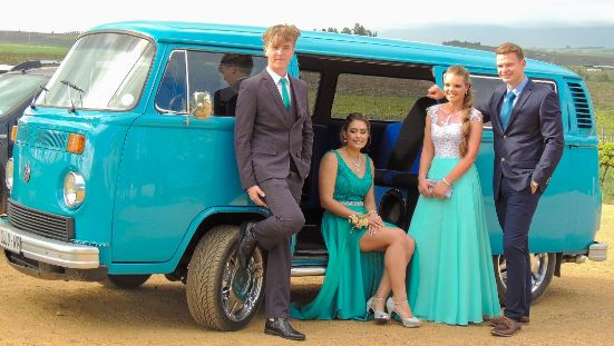 Matric dance partybus